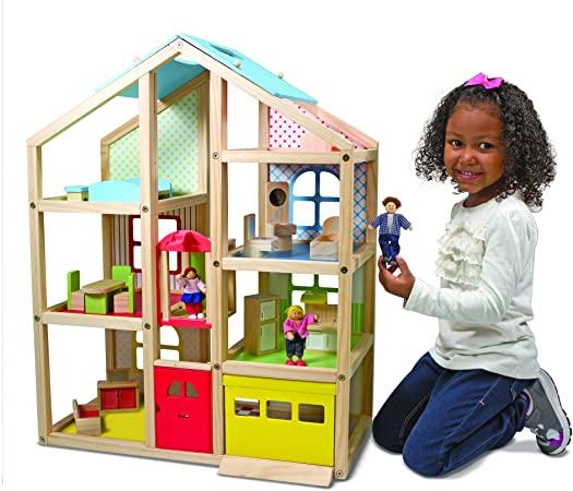 La grande maison de poupée en bois - modèle 12462 - marque Melissa & Doug
