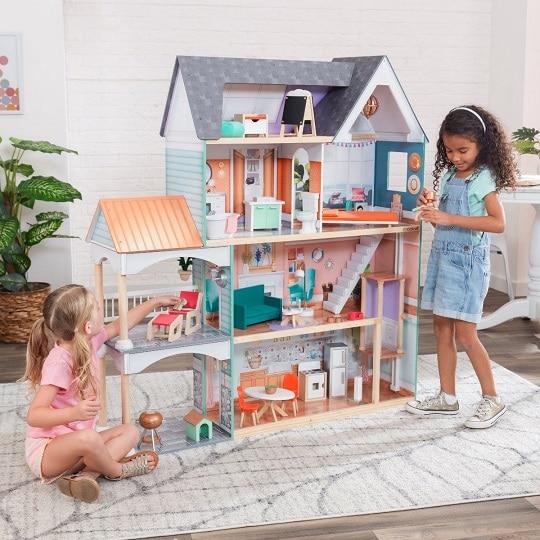 Maison de poupée de la marque Kidkraft - modèle DAHLIA