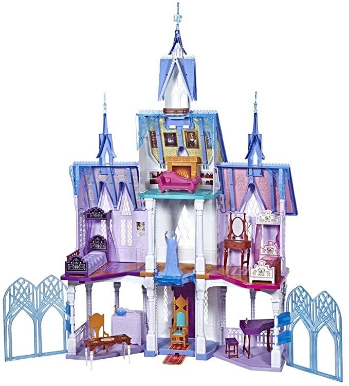 L'extraordinaire chateau d'Arendelle d'Elsa et Anna (la Reine des Neiges)