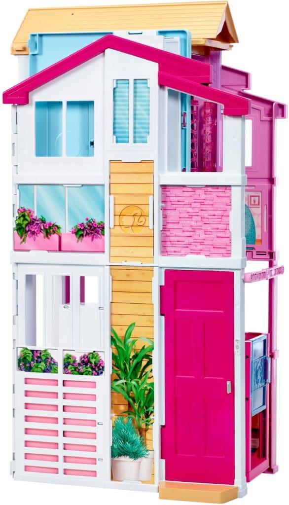 Maison de Barbie de Luxe a l'état replié.