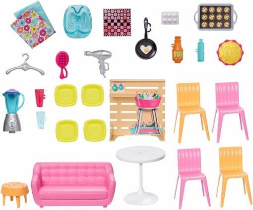 Accessoires de la Maison de Barbie à Malibu