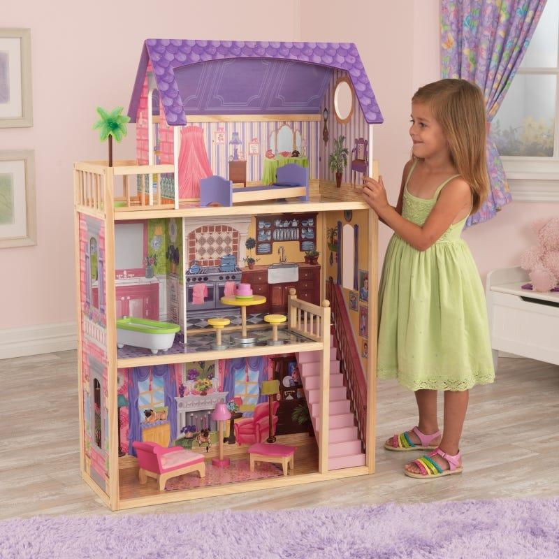Présentation de la maison de poupée KAYLA, de la marque Kidkraft