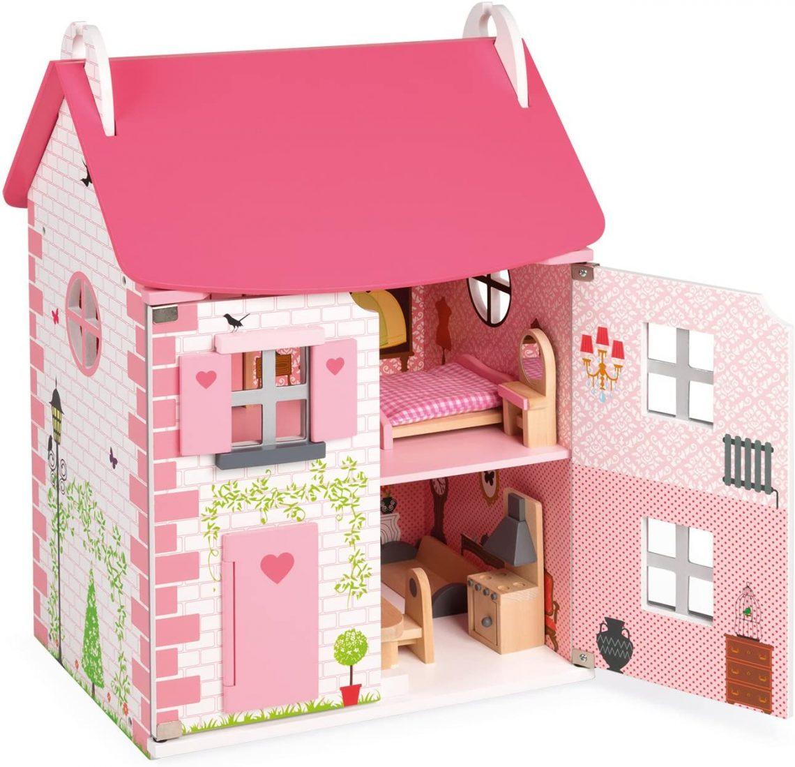 Maison de poupée - type valise - modèle Mademoiselle - marque Janod