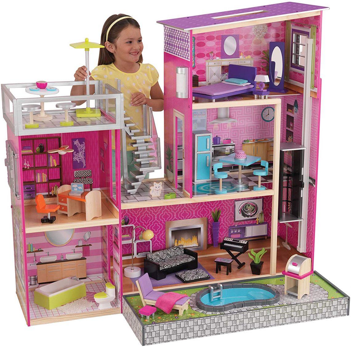 Maison de poupée Kidkraft Uptown