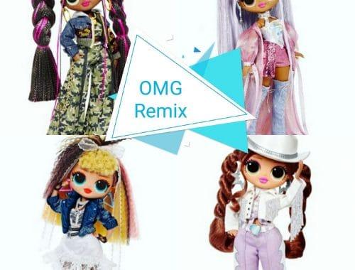 Les nouvelles Poupées LOL OMG Remix
