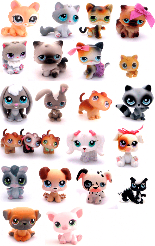 Présentation de la collection Littlest Pet Shop