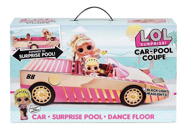 En route ! avec la voiture LOL Car Pool Coupé