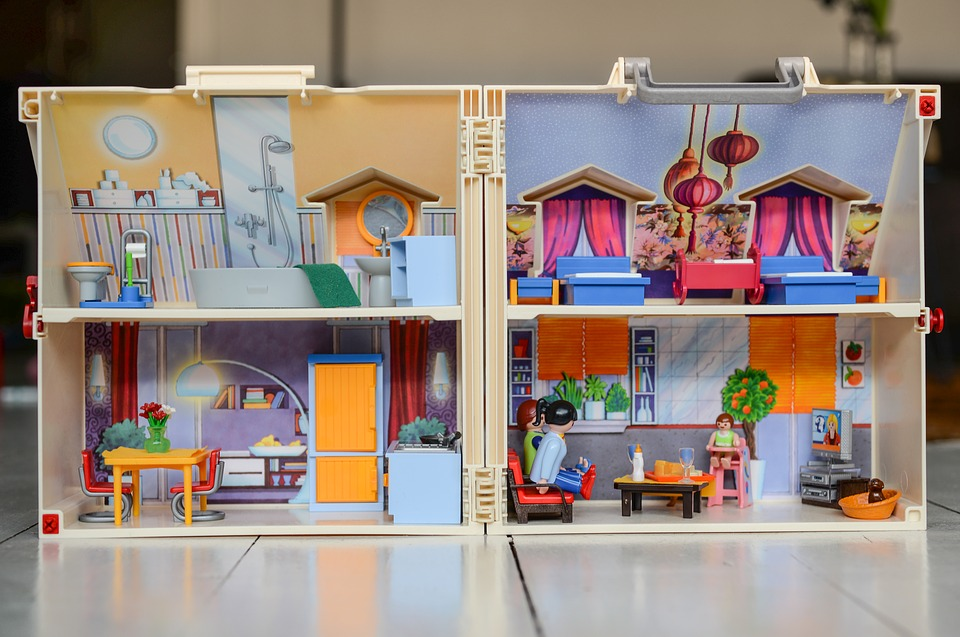 Avantages d'une petite maison de poupée