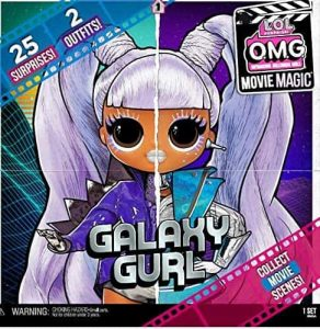 Poupée LOL OMG Movie Magic : Galaxy Curl